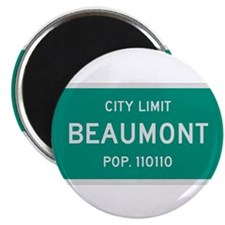 "Beaumont, Texas City Limits 2.25"" Magnet (100 pack"