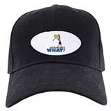 Girl Playing Golf Baseball Hat
