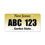 Funny Cptemplate Aluminum License Plate
