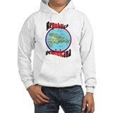 Republica Dominicana Map Jumper Hoody