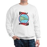 Republica Dominicana Map Sweatshirt