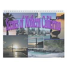 Scenes of Northern California Calendar