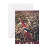 Cute Norsk Greeting Card
