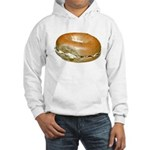 Bagel and Cream Cheese Hooded Sweatshirt