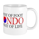 Tae Kwon Do Philosophy Small Mug