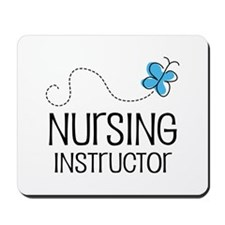 Cute Nursing instructor Mousepad