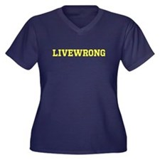 LIVEWRONG Plus Size T-Shirt