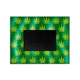 Cannabis leaves - Picture Frame