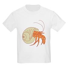 Hermit Crab Kids T-Shirt