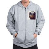 million dollar sloth Zip Hoodie