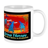 Group Therapy Small Mug