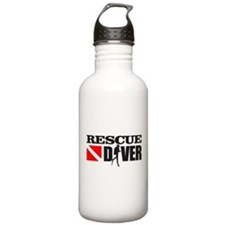 Rescue Diver 3 (blk) Water Bottle