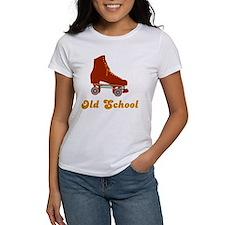 Old School Rollerskates Tee