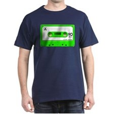 Green Cassette Tape T-Shirt