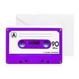 Cassette tape Greeting Cards (20 Pack)