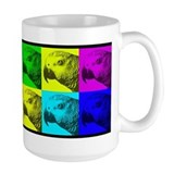 Multi Colored African Greys Mug