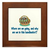 Handbasket Framed Tile