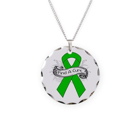 Kidney Cancer Find A Cure Necklace Circle Charm
