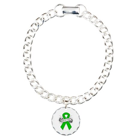 Kidney Cancer Find A Cure Charm Bracelet, One Char