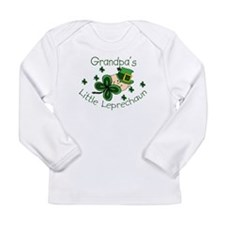 leprechaun grandpa Long Sleeve T-Shirt