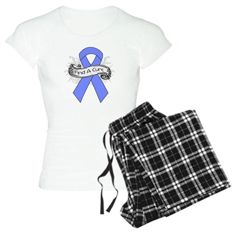 Intestinal Cancer Find A Cure Women's Light Pajama