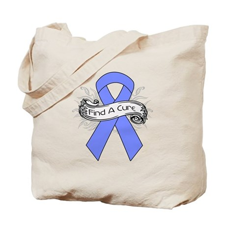 Intestinal Cancer Find A Cure Tote Bag