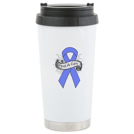 Intestinal Cancer Find A Cure Ceramic Travel Mug
