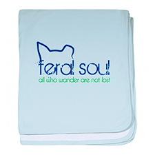 Feral Soul baby blanket