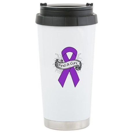 Leiomyosarcoma Find A Cure Ceramic Travel Mug