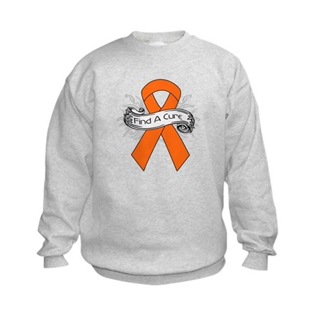 Leukemia Find A Cure Kids Sweatshirt