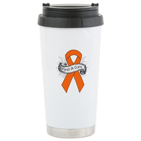 Leukemia Find A Cure Ceramic Travel Mug