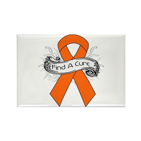 Leukemia Find A Cure Rectangle Magnet