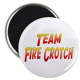 Team Fire Crotch Magnet