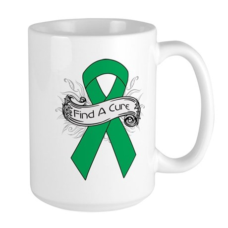 Liver Cancer Find A Cure Large Mug