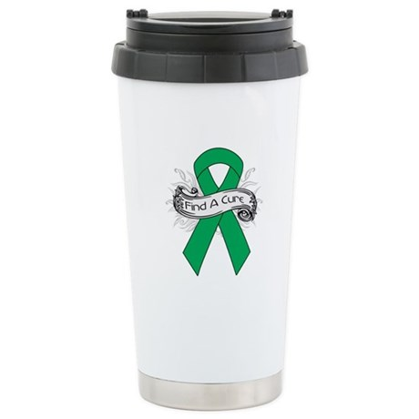 Liver Cancer Find A Cure Ceramic Travel Mug