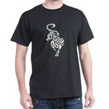 Black Panther Tribal Art 1 T-Shirt