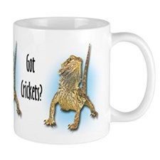 Bearded Dragon Got Crickets Mug