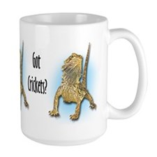 Bearded Dragon Got Crickets Coffee Mug