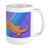 Bearded Dragon (blue) Mug