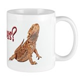 Bearded Dragon Got Supers Coffee Mug