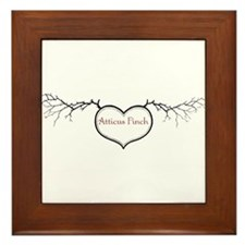 Love Atticus Framed Tile