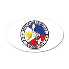 Philippines Angeles Mission - LDS Mission Flag Cu