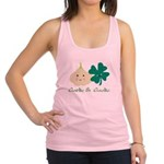 Garlic & Gaelic Racerback Tank Top