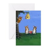 Cute Artistic Greeting Cards (Pk of 20)
