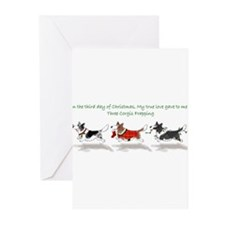 Unique Tri x Greeting Cards (Pk of 20)