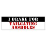 Brake Check! Bumper Bumper Sticker