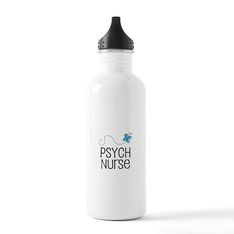 Cute Psych nurse Stainless Water Bottle 1.0L