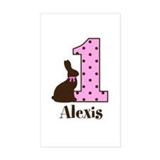 Babys First Easter Custom name Decal