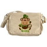 Lucky Irish Monkey Messenger Bag