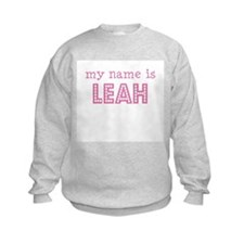 My name is Leah Sweatshirt